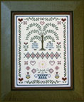 Folk Art Sampler by Milady's Needle