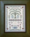 Folk Art Sampler by Milady's Needle-Folk Art Sampler, Milady's Needle