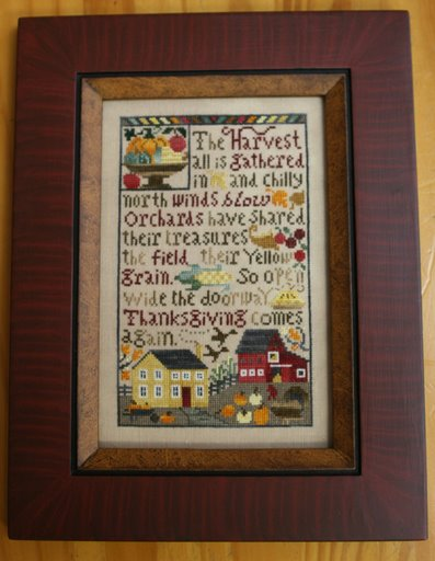 Thanksgiving Comes Again by The Prairie Schooler-Prairie, Schooler, Thanksgiving, Comes Again, gallery, customer, pictures, framed,